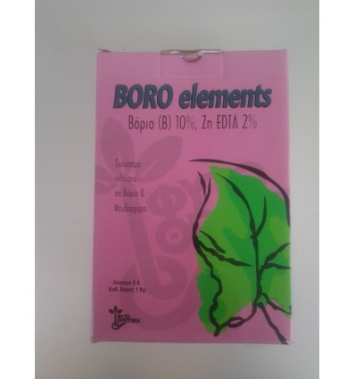 BORO ELEMENTS BORON(B) 10% Zn EDTA 2%