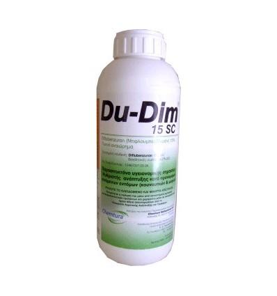 Εντομοκτόνο προνυμφοκτόνο DU-DIM 15sc -φιάλη 1 ΛΙΤΡΟ