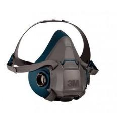 3m-6502 Επαναχρησιμοποιούμενη Μάσκα Μισού Προσώπου από Σιλικόνη