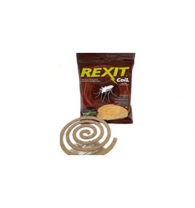Rexit Coil αντικουνουπικό οικολογικό φιδάκι σπιράλ 10 τεμ.