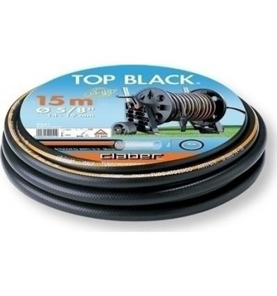 """Λαστιχο ποτισματος 5/8"""" 15m 100% PVC CLABER Top black"""