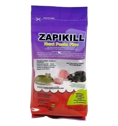 Τρωκτικοκτόνο ZAPIKILL PASTA 150 gr