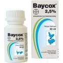 Baycox 2.5% για τη θεραπεία της κοκκιδίωσης 50gr