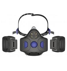 SECURE CLICK Μάσκα Μισού Προσώπου HF-802SD Mαζί με φίλτρα