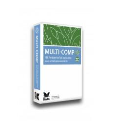 MULTI-COMP BASE ΚΟΚΚΩΔΕΣ ΛΙΠΑΣΜΑ NPK 14-13-20 +MgO+Me 25 kg