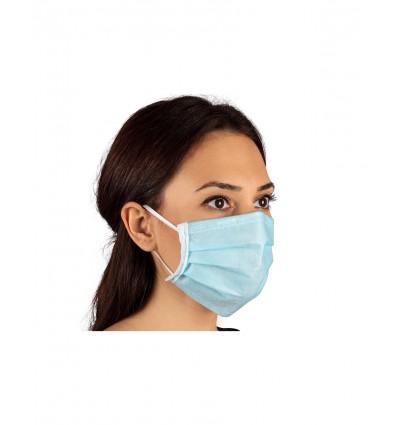 Χειρουργική Μάσκα Προστασίας με Τριπλό Ύφασμα Sani Evo Stenso 50 TEM