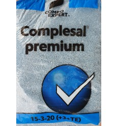 COMPLESAL PREMIUM 15-3-20 (+3+TE) 25kg
