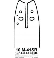 Visco Parts Λάμα Με Γρανάζι 10M -41SR
