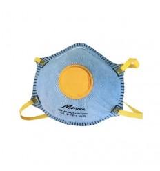 Μάσκα 2τμχ. FFP1 Ενεργού Άνθρακα Προστασίας Αναπνοής Από Σωματίδια - Σταγονίδια με Βαλβίδα Εκπνοής Morgan 04502