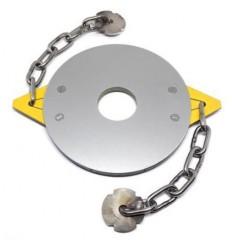 Δίσκος θαμνοκοπτικού από ανοξείδωτο ατσάλι με δύο αλυσίδες CHAIN CUT
